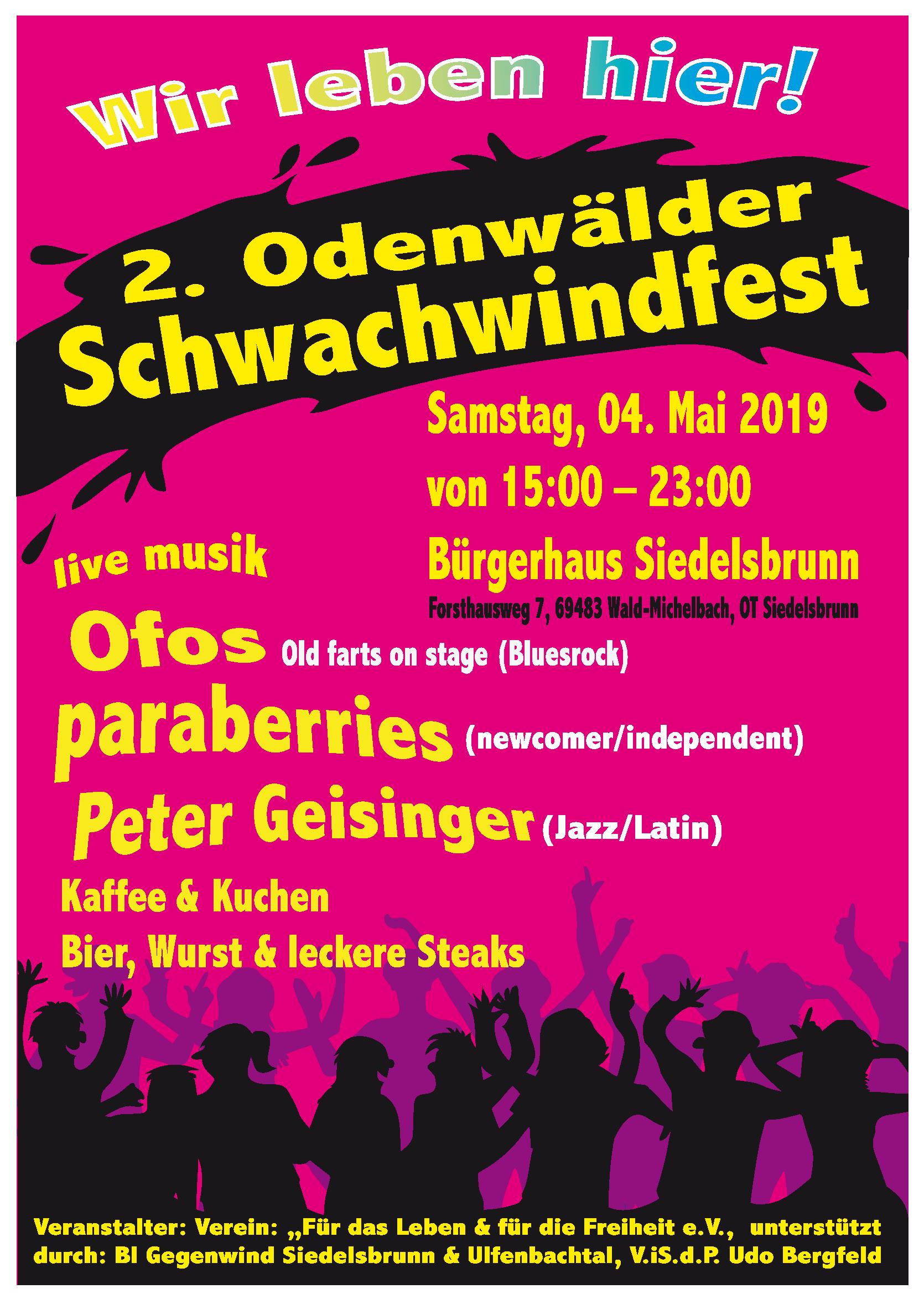 2. Schwachwindfest Siedelsbrunn