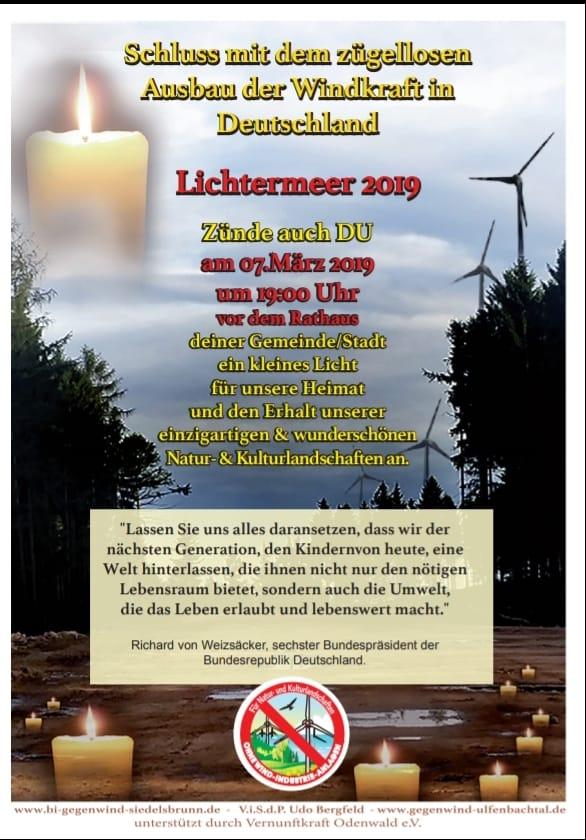 2. Odenwälder Lichtermeer (diverse Orte-bundesweit)